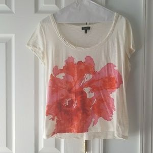 Talbots Floral T- Shirt